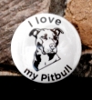 Button I love my pitbull I.
