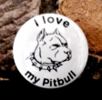Button I love my pitbull II.