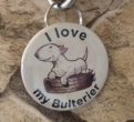 Button I love my bullterier